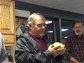 Butch Ruggiero hollow form honey locust