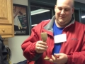 Steve Reppert goblet and cheese knife