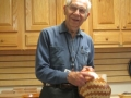 "Elwood Bolger segmented bowl from ""gift"" wood.  Thanks to Jon Harrington."