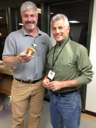 Rick Bryant made the perpetual turning won by Rob Kingham