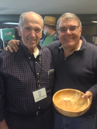 Butch Ruggiero made the perpetual turning won by Jim Haley