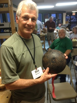 Tom Buchner perpetual turning won by Rick Bryant
