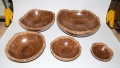 Butch_Ruggiero_cored_bowl_set_coolibah_burl_6960